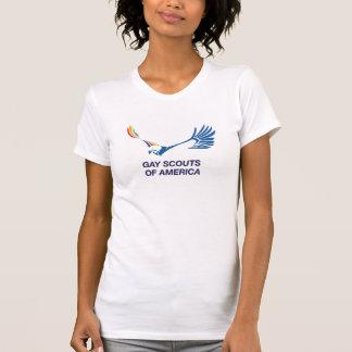 Exploradores gay de la camiseta de América