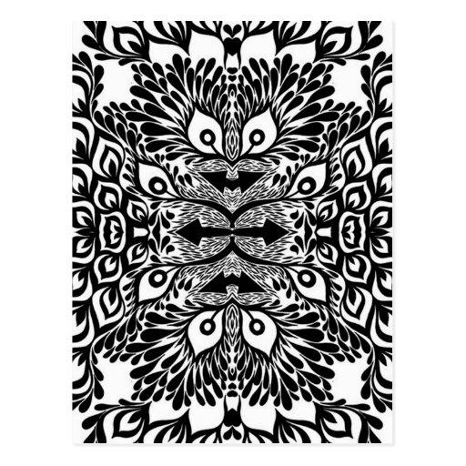 Dibujos en blanco y negro abstracto - Imagui
