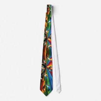 explosión del arco iris de la bola de espejo corbata