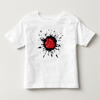 Explosión del boxeo camiseta de bebé