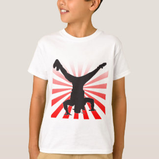 explosión del break dance camiseta