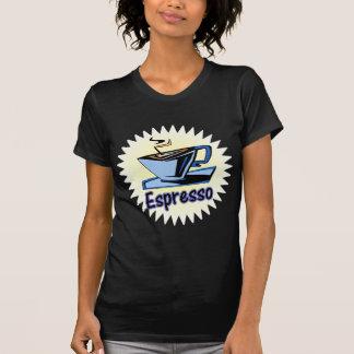 explosión del café express camisetas