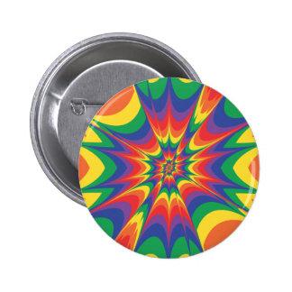Explosión del color: Arte abstracto: Pin