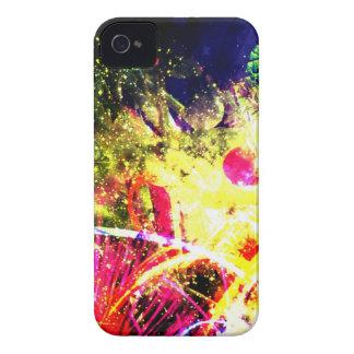 Explosión del color del tomate Case-Mate iPhone 4 funda