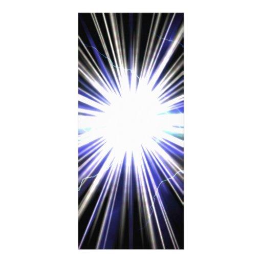 Explosión eléctrica de la estrella del relámpago lona personalizada