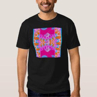 Explosiones vibrantes 3 de la flor camiseta