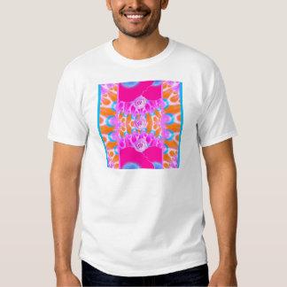 Explosiones vibrantes 3 de la flor camisetas