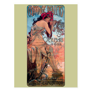 Expo 1902 de los distribuidores autorizados del tarjetas postales