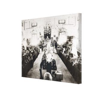 Exposición de Trinidad and Tobago 1890 Lona Envuelta Para Galerías