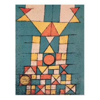 """Exposición del Bauhaus """"el aspecto sublime"""", 1923 Postal"""