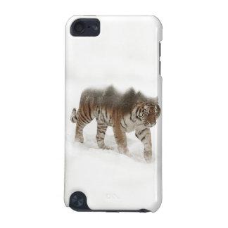 Exposición-fauna tigre-Tigre-doble siberiana Carcasa Para iPod Touch 5G