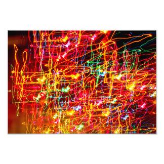 Exposición larga fresca Colorscape Impresión Fotográfica