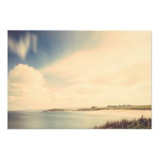 Exposición larga sobre la playa de Fistral, impres Impresión Fotográfica
