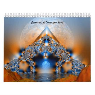 Expresiones del calendario divino del amor 2018