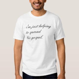 extensión de la palabra camisetas