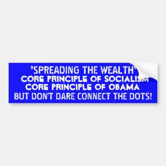¡Extensión de la riqueza. .BUT. .DO para no conect Etiqueta De Parachoque