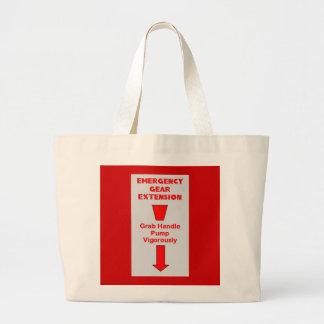 Extensión del engranaje de la emergencia bolsa lienzo