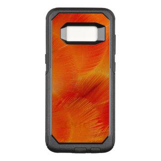 Extracto anaranjado de la pluma del Macaw de Funda Otterbox Commuter Para Samsung Galaxy S8