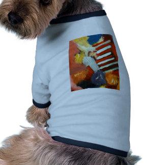 Extracto apagado al circo camisetas de mascota