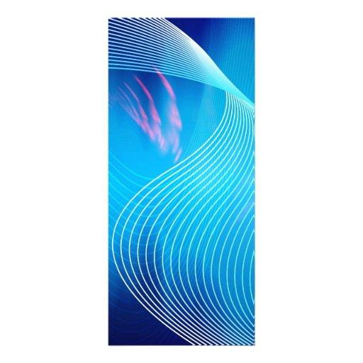 Extracto audio eléctrico azul de la forma de onda lona