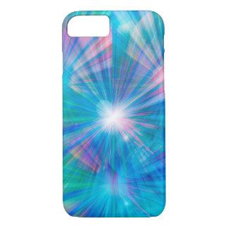 Extracto azul de la cubierta funda iPhone 7