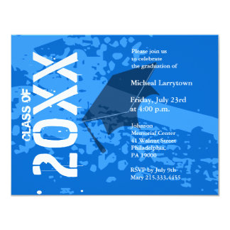 Extracto azul de la invitación ABB231 de la