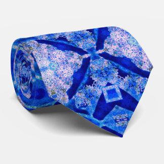 Extracto azul fluorescente corbatas