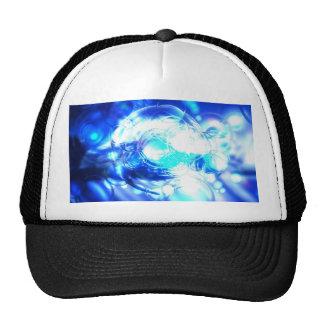 Extracto azul gorras de camionero