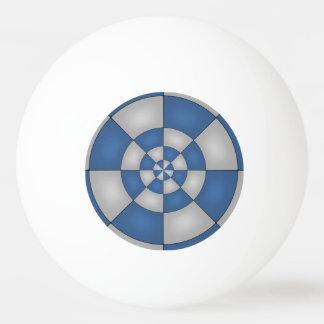 Extracto azul náutico pelota de ping pong