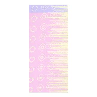 Extracto bonito en pálido - rosa y amarillo tarjetas publicitarias