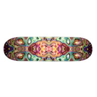 Extracto colorido de la imagen de espejo monopatin personalizado