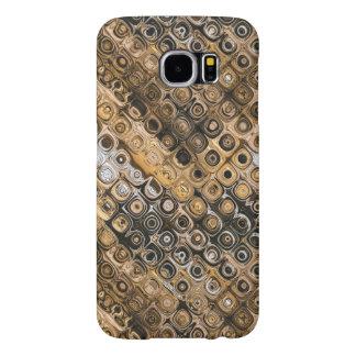 Extracto de Brown y del moreno Funda Samsung Galaxy S6