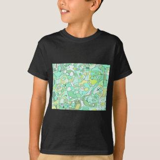 Extracto de la aguamarina camiseta