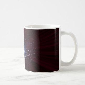 Extracto de la fibra óptica taza de café