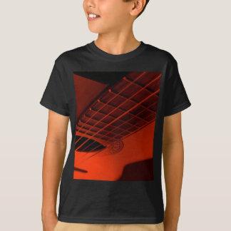 Extracto de la guitarra camiseta