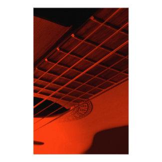 Extracto de la guitarra papelería