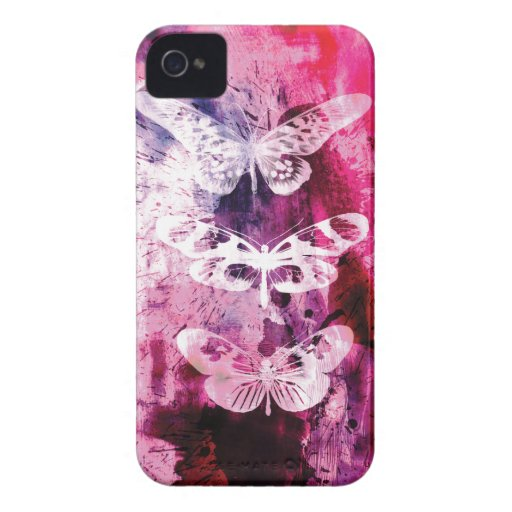 extracto de la mariposa iPhone 4 Case-Mate cárcasas