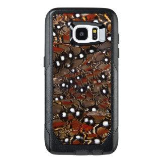 Extracto de la pluma del pecho de Tragopan Funda OtterBox Para Samsung Galaxy S7 Edge