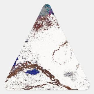 Extracto de las contradicciones pegatina triangular