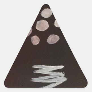Extracto de S.B. Eazle Pegatina Triangular
