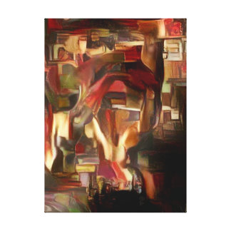 Extracto del aceite de la mente de Sebastian Impresión En Lienzo