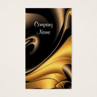 Extracto del bronce del oro de la empresa de tarjeta de visita