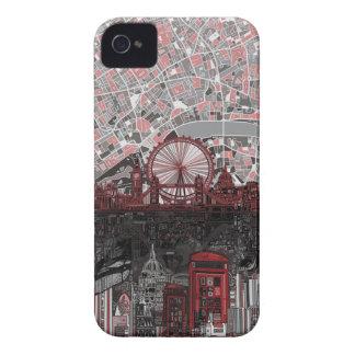 extracto del horizonte de Londres Case-Mate iPhone 4 Cárcasas