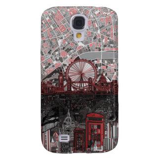 extracto del horizonte de Londres Funda Samsung S4