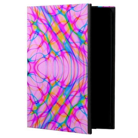 Extracto del modelo del caleidoscopio del rosa en funda para iPad air 2