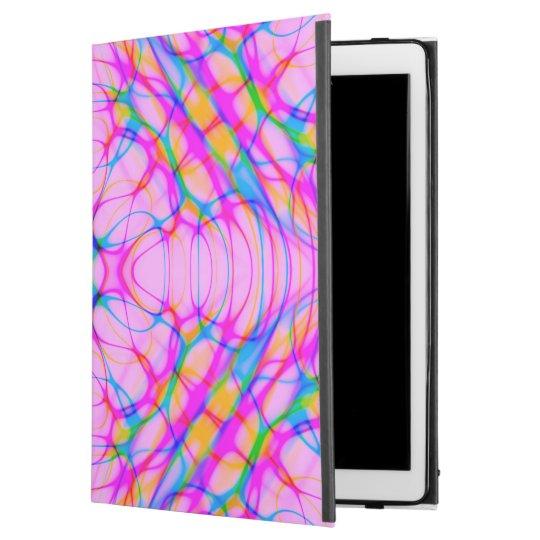 """Extracto del modelo del caleidoscopio del rosa en funda para iPad pro 12.9"""""""