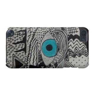 Extracto del ojo azul funda para iPod touch 5G