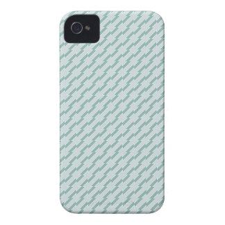 Extracto diagonal azul Case-Mate iPhone 4 protectores