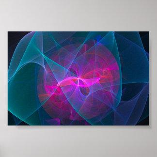 extracto digital colorido del papel pintado de los posters