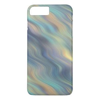 Extracto en colores pastel de las corrientes que funda iPhone 7 plus